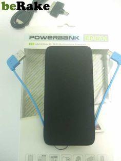Vendo Bateria externa para cargar samsung, iphone, y toda clase de móviles y tablets, incluye clavija para iphone 5. pago por paypal, envío 4.00€ por correos....