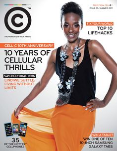 Cell C - Spring 2011  #MagazineCover 10 Anniversary, Magazine Covers, Spring, Hot
