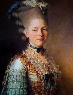 1776-1777 S. M. Obolensky by Alexander Roslin (The sleeves indicate court costume.)