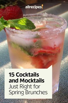 """15 Cocktails and Mocktails Just Right for Spring Brunches 