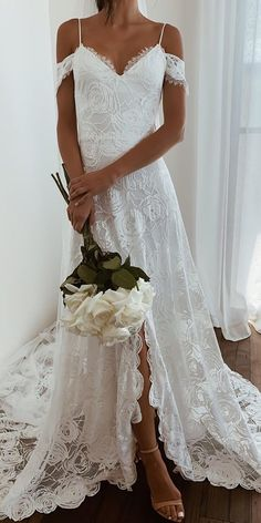 Off The Shoulder Wedding Dresses To See ? off the shoulder wedding dresses sheath with spaghetti straps sweetheart for boho grace loves lace Teal Dress For Wedding, Boho Wedding Dress With Sleeves, Classic Wedding Dress, Bohemian Wedding Dresses, Fall Wedding Dresses, Wedding Dresses Plus Size, Colored Wedding Dresses, Off Shoulder Wedding Dress Bohemian, Lace Wedding