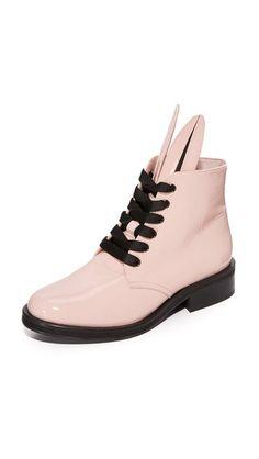 MINNA PARIKKA Bunny Zip Boots. #minnaparikka #shoes #boots