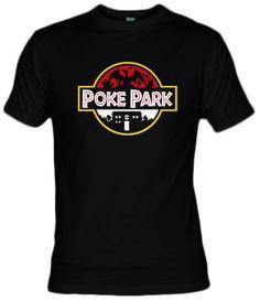 Camiseta Poke Park  por Olipop - fanisetas.com - pokemon