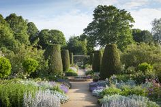 The walled garden at Mottisfont Abbey, Hampshire. ©National Trust Images/Jonathan Buckley