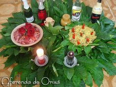 Farofa Vermelha para Bombogira - Oferenda de Orixá