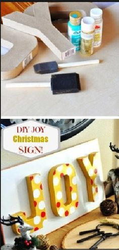 DIY Christmas decoration ALSO USE DOWEL ROD & PUT IN PLANTER WITH GREENERY, MESH & ORNAMENTS