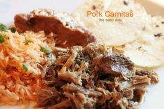 the easy way to make Pork Carnitas!  sounds wonderful!  via @createdbydiane - guess I need a pressure cooker.