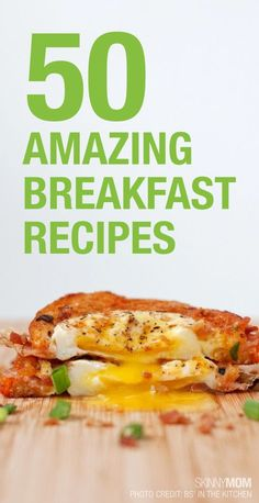 Quick and healthy breakfast recipes that are perfect for the entire family.