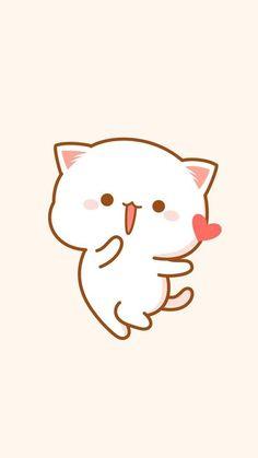Pin by liriel angel on papel de parede de gato in 2019 милые обои, обои для Doodles Kawaii, Cute Doodles, Diy Kawaii, Kawaii Cat, Chibi Cat, Cute Chibi, Kawaii Wallpaper, Cute Wallpaper Backgrounds, Kawaii Drawings