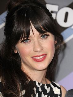 Do you relate more to people with your hair color? Zooey Deschanel does.  Yes, I do!