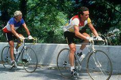 .......Bernard Hinault & Laurent Fignon, TdF, 1984!