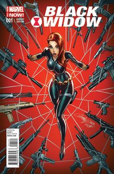 Black Widow #1, J. Scott Campell Variant Cover