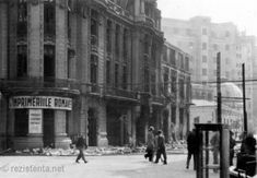 lipscani Bucharest bombing romania world war 2 bombardamente bucuresti 1944 British American, Bucharest, Rare Photos, Romania, Ww2, World War, Past, Street View, Anna