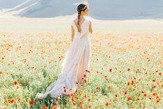 Magic Italy Idea and organization of the shoot @beautiful_umbria | beautiful dress by @vesssna_maria | hair accessories @beretkah | model Silvia Gisondi| #mamiya645 #film #fuji400H by warmphotos