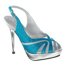 Turquoise Shoes - Shoes for Prom - Touch Ups Bridal Shoes - Touch Ups Dyeable Shoes