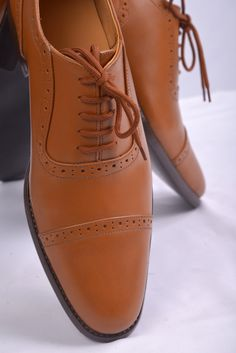 Luxire Tan Leather shoes