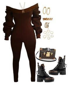 """Untitled #4404"" by mollface ❤ liked on Polyvore featuring Louis Vuitton, Dsquared2 and Vittorio Ceccoli"
