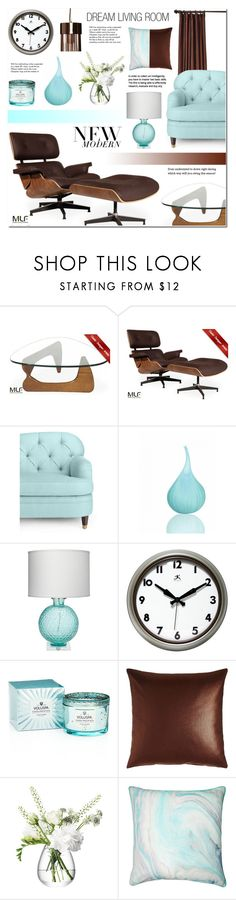 """""""Modern Luxury Furniture (MLF) - 3"""" by anyasdesigns ❤ liked on Polyvore featuring interior, interiors, interior design, home, home decor, interior decorating, Kate Spade, Jamie Young, Infinity and Voluspa"""
