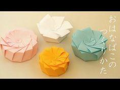 """六角形&八角形 「のせる」だけのフタ Polygonal Box """"Lid Arrangement"""" - YouTube"""