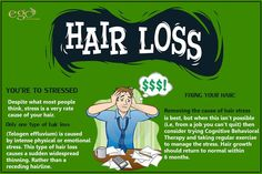 ‪#‎HAIRLOSS‬ due to ‪Stress‬ and HOW TO ‪‎FIX‬ IT. Via: www.goego.in #‎Bangalore