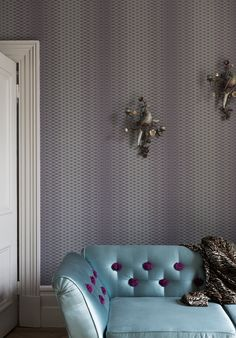 Lattice BP 3505 from Farrow & Ball's Latest & Greatest wallpaper designs.