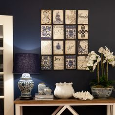 We love grouping our Sid Dickens memory blocks in similar colour tones, of course, we had to create a blue and white theme. Have a good…