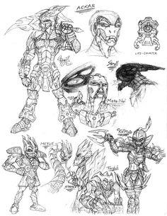 Bionicle Bara Magnans by The-HT-Wacom-Man.deviantart.com