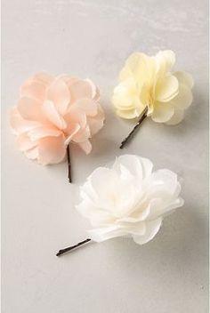 Rosette Hair Pins