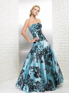 blue wedding dress | Colorful wedding dresses - Blue styles