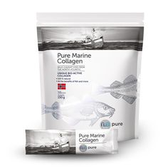 Nu3Pure Marine Collagen Collagen makes up a third of our body's total protein content and is an important component of joints, muscle, skin and cartilage. Our body's natural collagen production starts to decline from our mid-20's where our joints become more prone to wear and tear, quality of the body's skin collagen degenerates leading to …