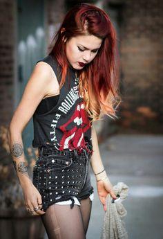 pinterest = palefl0wer ♡ (Shade of red hair)