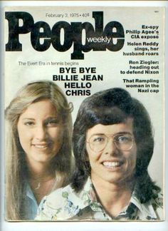 Billie Jean King wins the US Open, where Chris Evert makes her debut. 1971