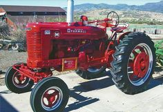 Farmall M - drove one as a teenager, It was probably as old if not older than I was.