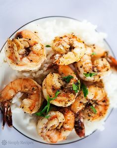 Peppery Garlic Prawn