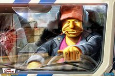 The Simpsons, Grand Theft Otto