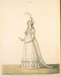 Gallery of Fashion, Figure 68, September 1795