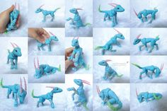 Ball Jointed Opalescent, the Dragon by vonBorowsky.deviantart.com on @deviantART
