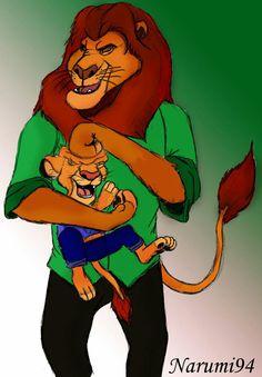 What if (Lion King)  #draw #drawing #thelionking #lionking #furry #furryart #zootopia #narumi94