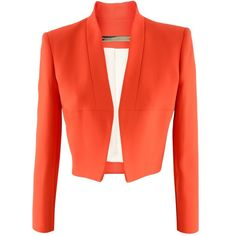 I love this blazer by Victoria Beckham. This would be great paired with a printed pencil dress or an additional piece for a pop of color.