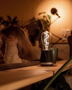 Humble Lights cordless mood lights – 140 hours of light on a single charge. #dutchdesign #tablelamps #tablelights Light Bulb, Table Lamp, Mood, Lights, Photo And Video, Videos, Photos, Instagram, Decor