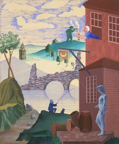 Learn more about Kerby (After Hogarth) Useful Knowledge by British artist David Hockney. Encaustic Painting, Painting & Drawing, David Hockney Artwork, Moma Nyc, Pop Art, Architecture Art Design, Portrait, Oil On Canvas, Modern Art