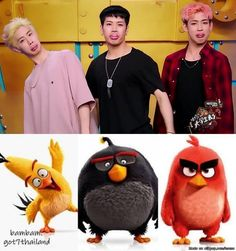 Spot the difference: AmeriThaiKong version