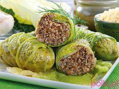 Cabbage stuffed w/ millet & champignon mushrooms Vegetarian Cooking, Vegetarian Recipes, Cooking Recipes, Healthy Recipes, Veggie Dinner, Slow Food, Vegan Dinners, Vegetable Dishes, Pancake