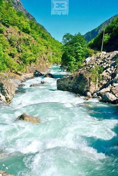 Valbona River, Tropoje, Albania. The Valbonë or Valbona is a river in northern Albania. It is still relatively untouched. Its source is in the Prokletije, near the border with Montenegro.