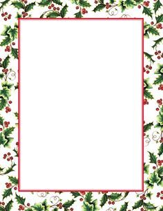 holiday borders for microsoft word christmas backgrounds
