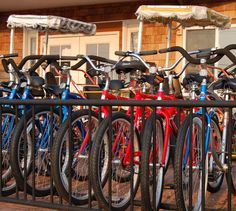 bicycles at a long beach island bicycle shop
