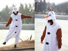 Beautiful New Disney Olaf Adult Snowman Costume Kigurumi One-piece Pajamas Cosplay cosplay from top store Full Body Costumes, Adult Costumes, Cosplay Costumes, Adult Pajamas, Onesie Pajamas, Pyjamas, Snowman Costume, Olaf Snowman, Disney Frozen Olaf