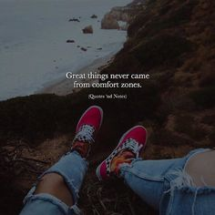 Great things never came from comfort zones. via (http://ift.tt/2squZLj)