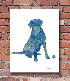 """Labrador Retriever"" Abstract Watercolor Art Print By Art... https://www.amazon.com/dp/B00TJCGMOI/ref=cm_sw_r_pi_dp_-KhJxbXXHP83F"
