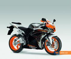 Orange Motorbike